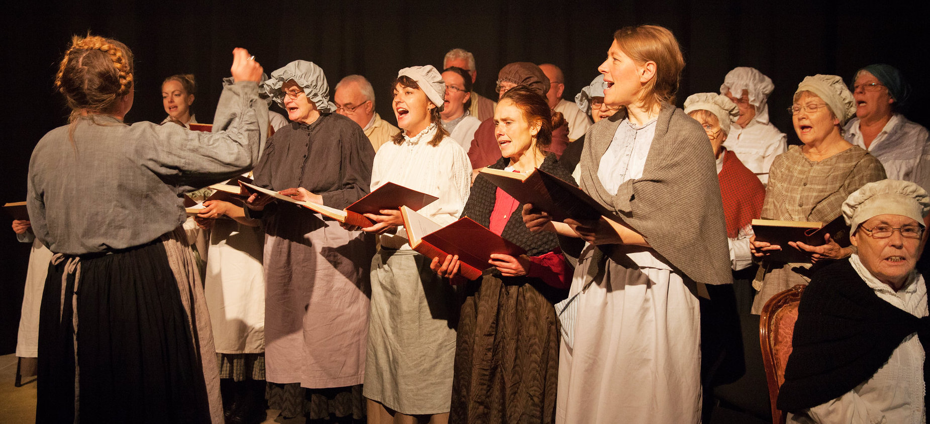 Bedminster Community Choir supporting Acta's performance of Blood on the Coal, 2017
